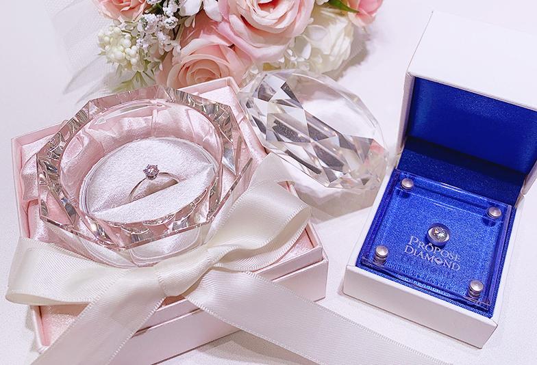 婚約指輪仮リング ダイヤモンドのプロポーズ