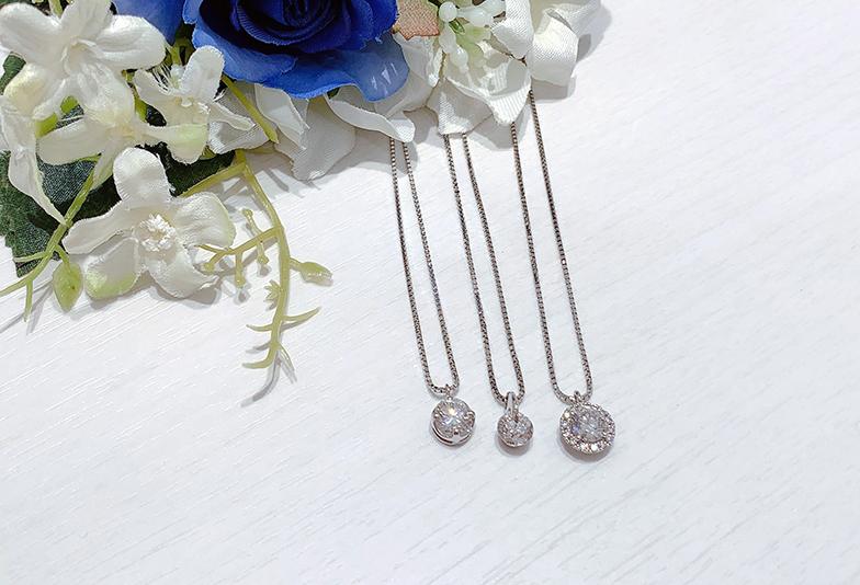 【浜松市】婚約指輪をネックレスにリフォームしたい。対応できるお店とデザインをご紹介