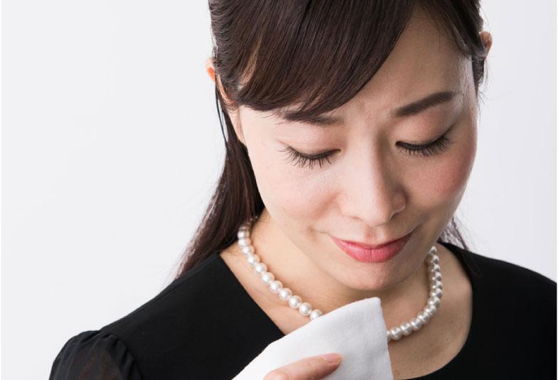 ブラックフォーマル女性 真珠ネックレス