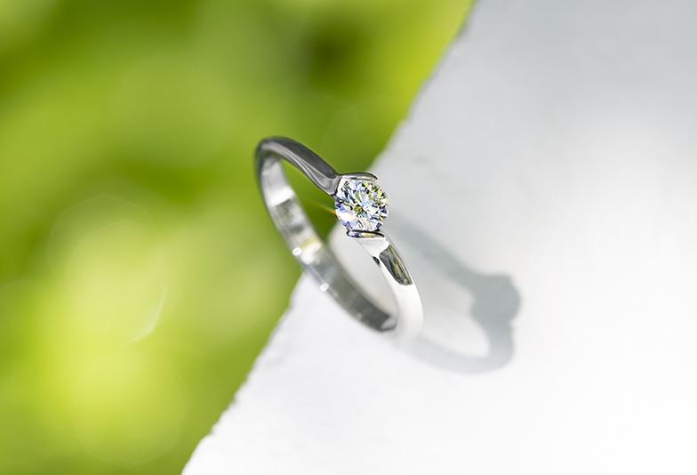 チタンの婚約指輪