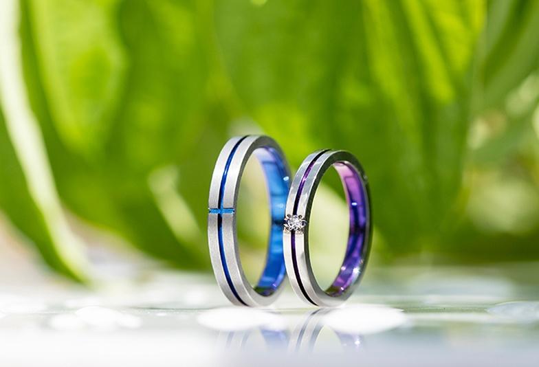 【金沢・野々市】ふたりの出会いを表したSORAの結婚指輪「CONTACT-コンタクト-」
