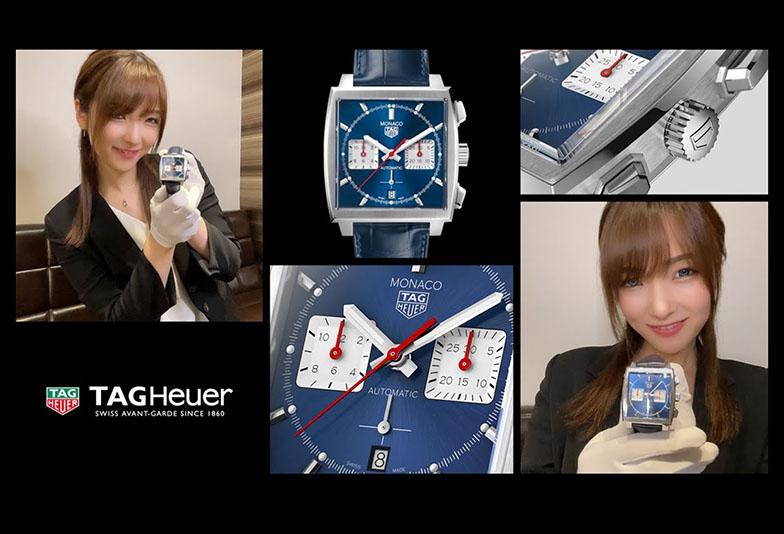 タグホイヤーモナコ キャリバーホイヤー02〈ペンを拾うお姉さんのおすすめ時計〉