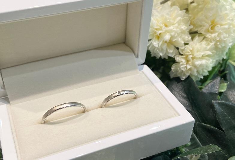 【大阪・心斎橋】ペアで10万円台で叶う結婚指輪をご紹介!