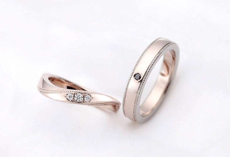 浜松市結婚指輪シャンパンゴールド