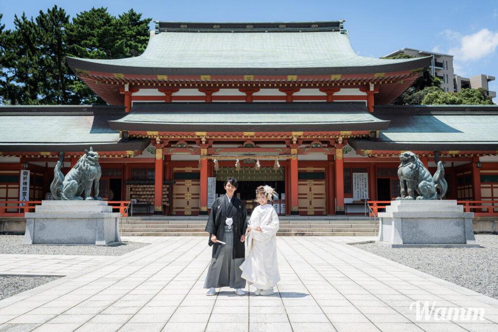 【静岡浜松前撮り】浜松で神社式を挙げるなら 内容充実でもっともリーズナブルなグランドホテル浜松がおすすめ