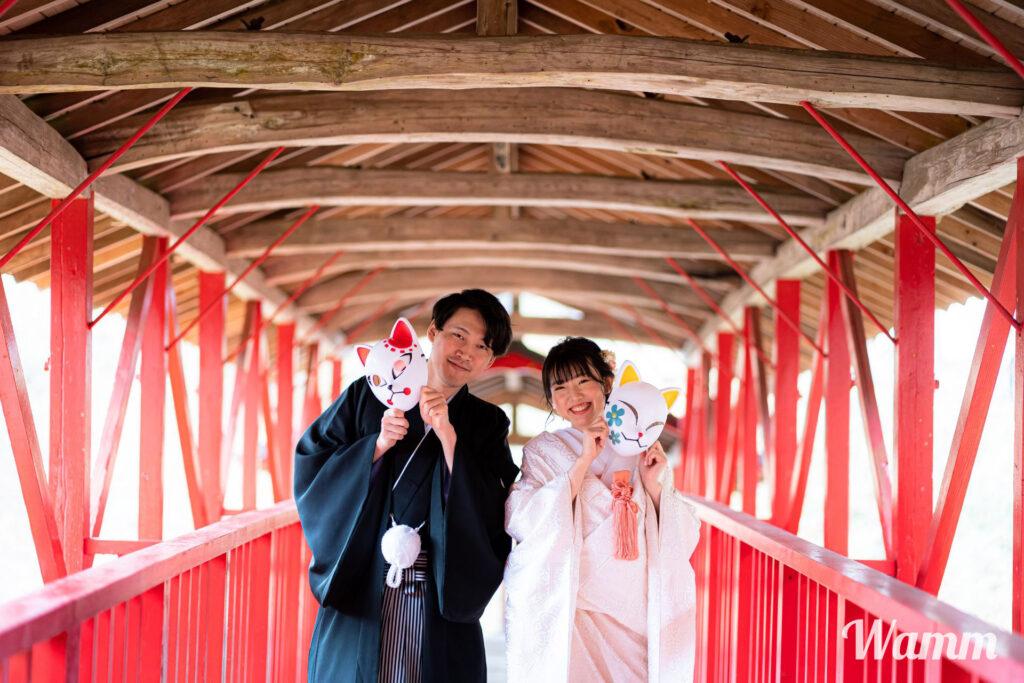 【静岡浜松前撮り】鬼滅の刃アイテムを使って前撮りしてきました!