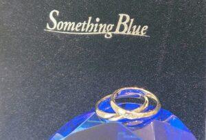 【京都市】着けていると幸せになれる結婚指輪!内側にブルーサファイヤが入ったSomething Blue(サムシングブルー)のご紹介!