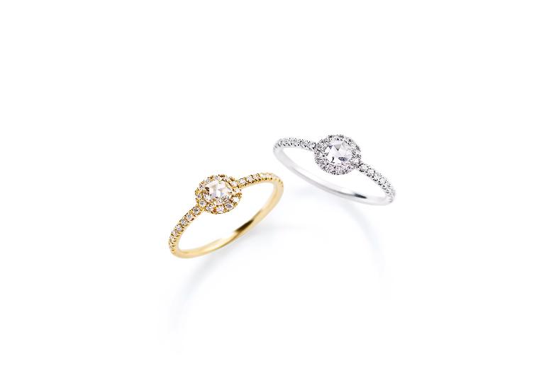 アーカーの婚約指輪・ヴィヴィアンローズリング