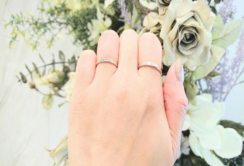 京都サムシングブルー結婚指輪