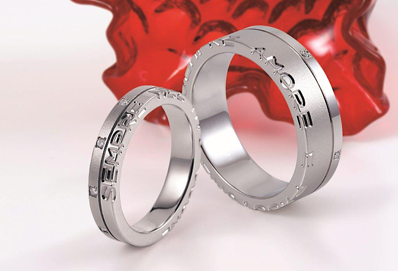 TAKEUCHI BRIDAL金沢・野々市店で人気の結婚指輪レガロ