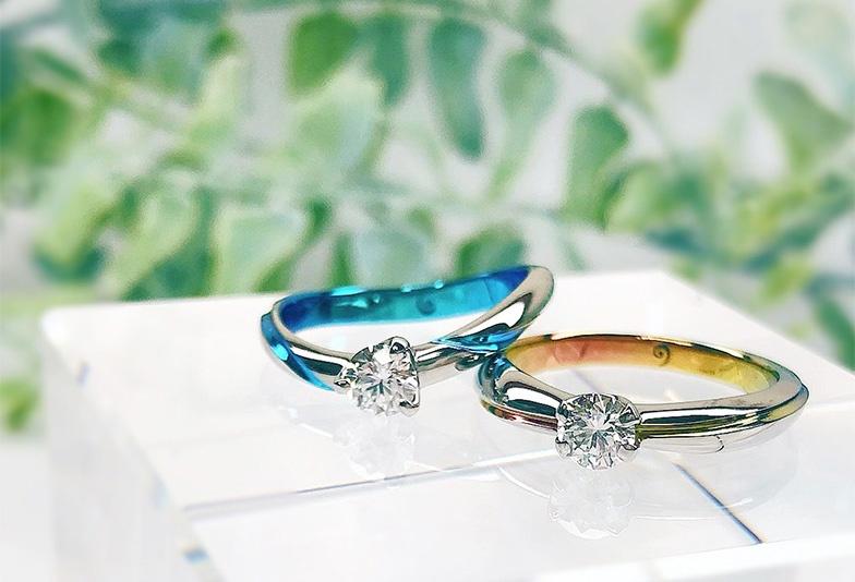 ジルコニウムの婚約指輪