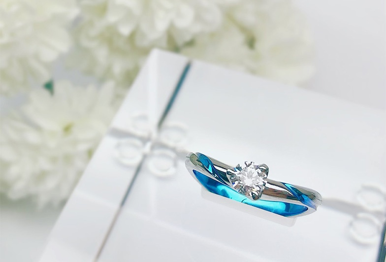 静岡市婚約指輪素材