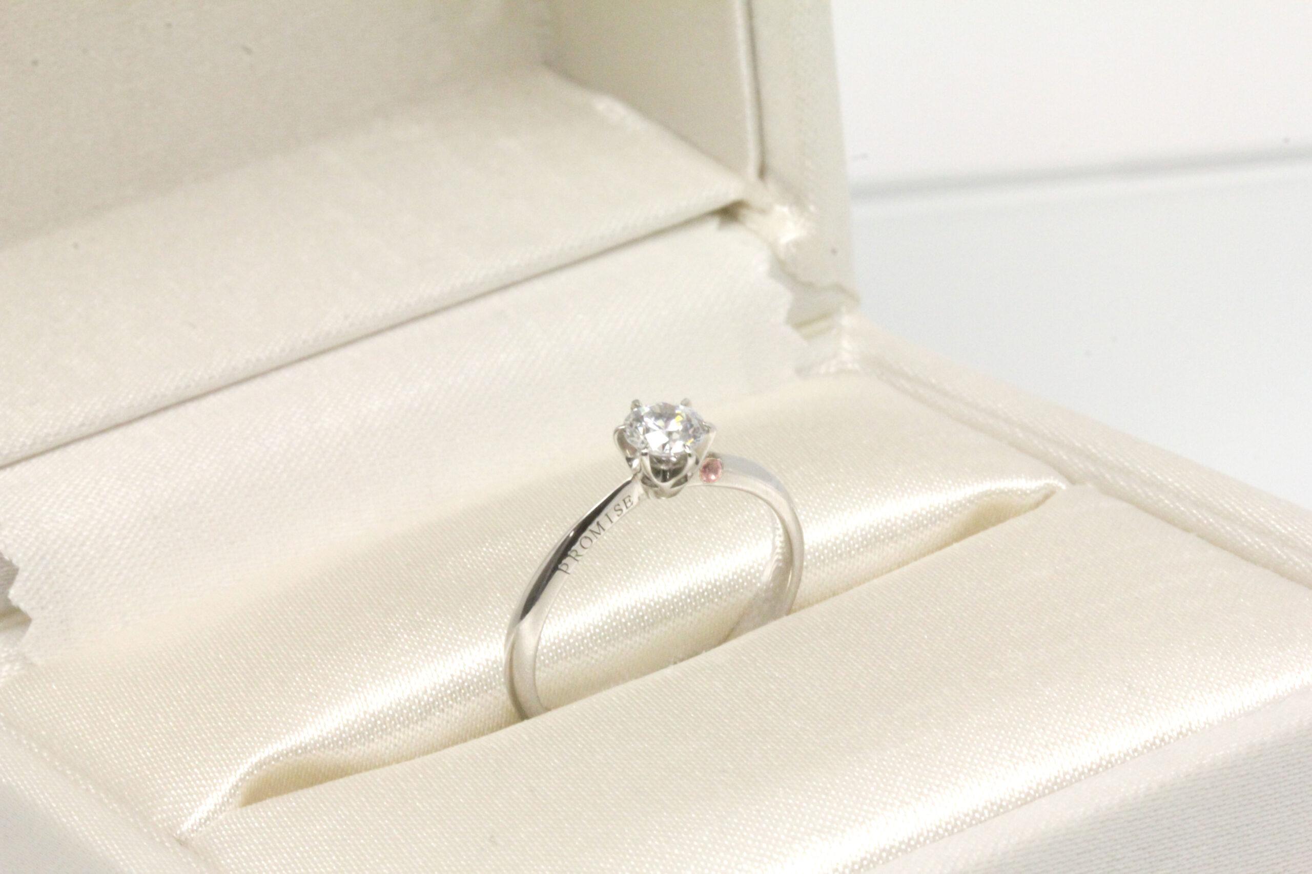 プロポーズ専用の婚約指輪