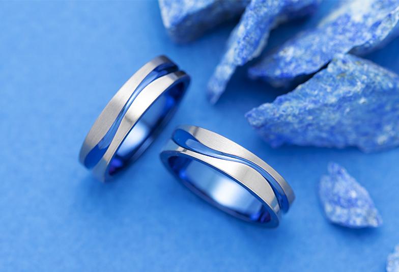 【浜松市】ブルーが好きなあなたに!結婚指輪で色を表現するおすすめの方法とは?