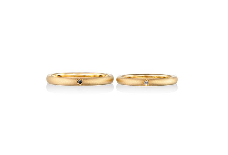 浜松市結婚指輪つや消し
