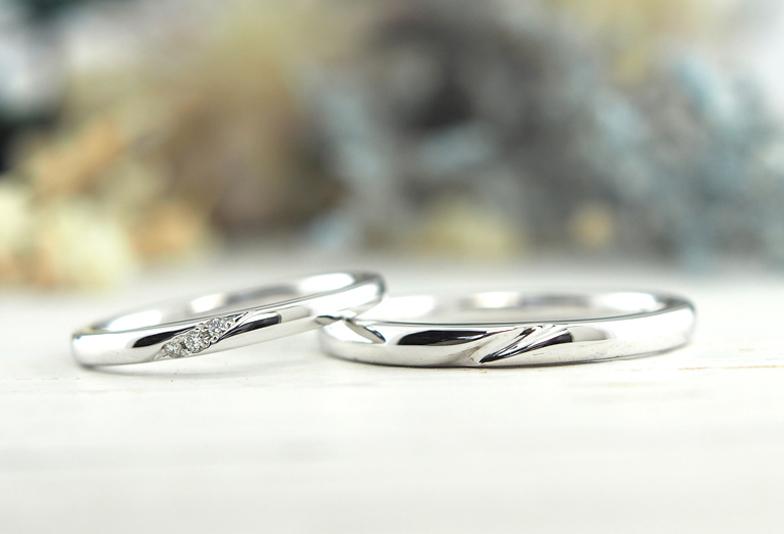 【福岡県久留米市】温かみのある結婚指輪、おすすめ表面加工