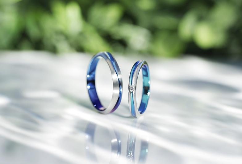 浜松 結婚指輪 かっこいい指輪