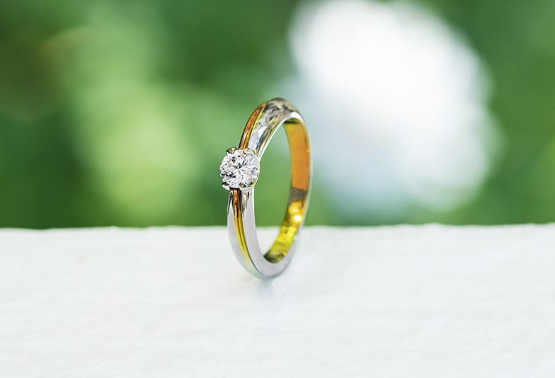 アレルギー対応 婚約指輪 SORA