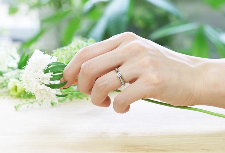 【静岡市】ジルコニウムの婚約指輪って知ってる?金属アレルギーでも安心な新素材