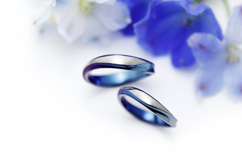浜松 結婚指輪 青い指輪
