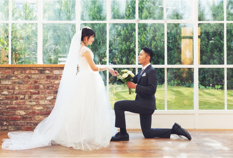 浜松プロポーズ ドレス 結婚式当日