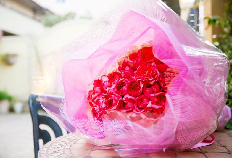 108本 バラ 花束 プロポーズ