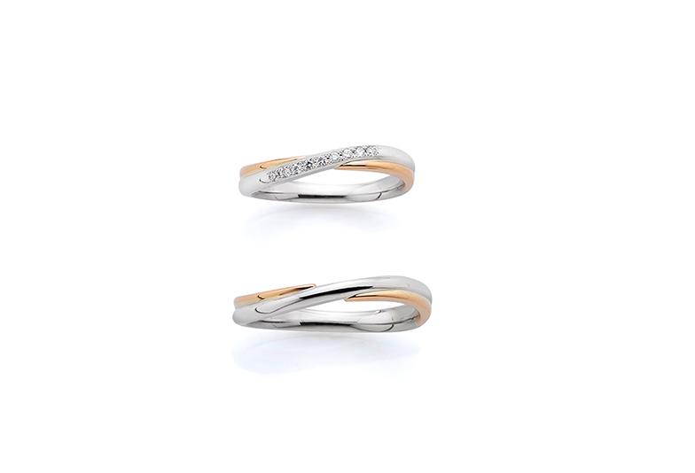 浜松市結婚指輪コンビネーション