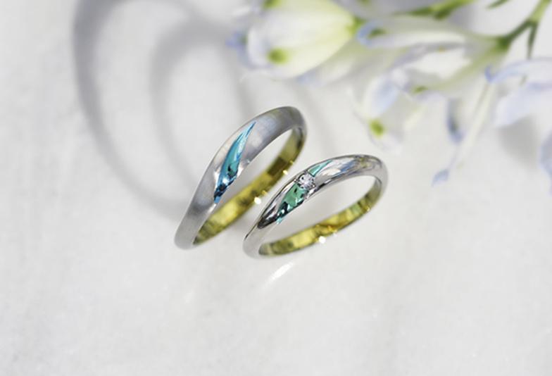 静岡市結婚指輪色