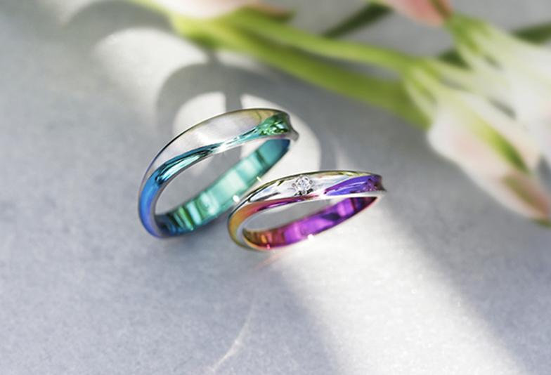 静岡市結婚指輪カラー