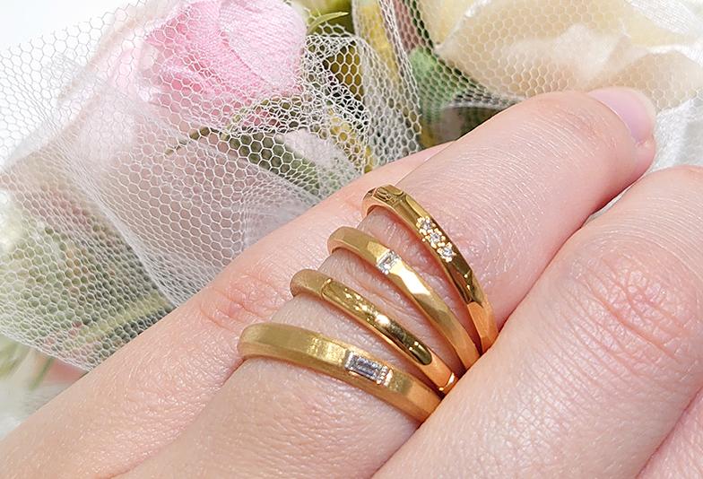 浜松 結婚指輪 ゴールド