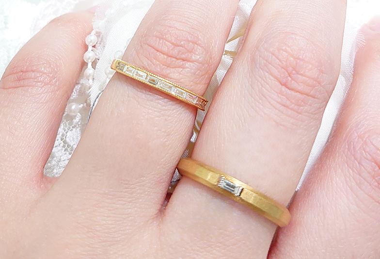 【浜松市】『ゴールドの結婚指輪を取り扱うお店が少ない…』私が行ったお店はココ!