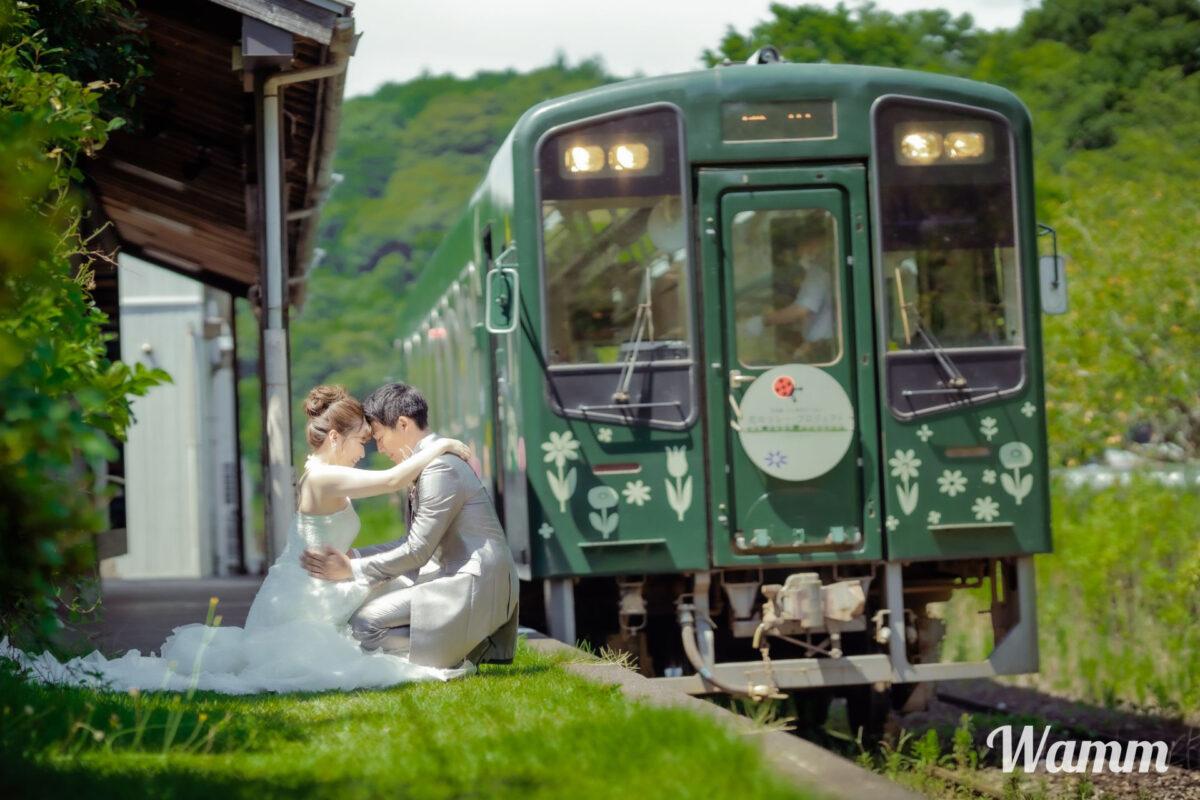 【静岡浜松前撮り】最近話題の天竜浜名湖鉄道・都田駅で撮影してみませんか?