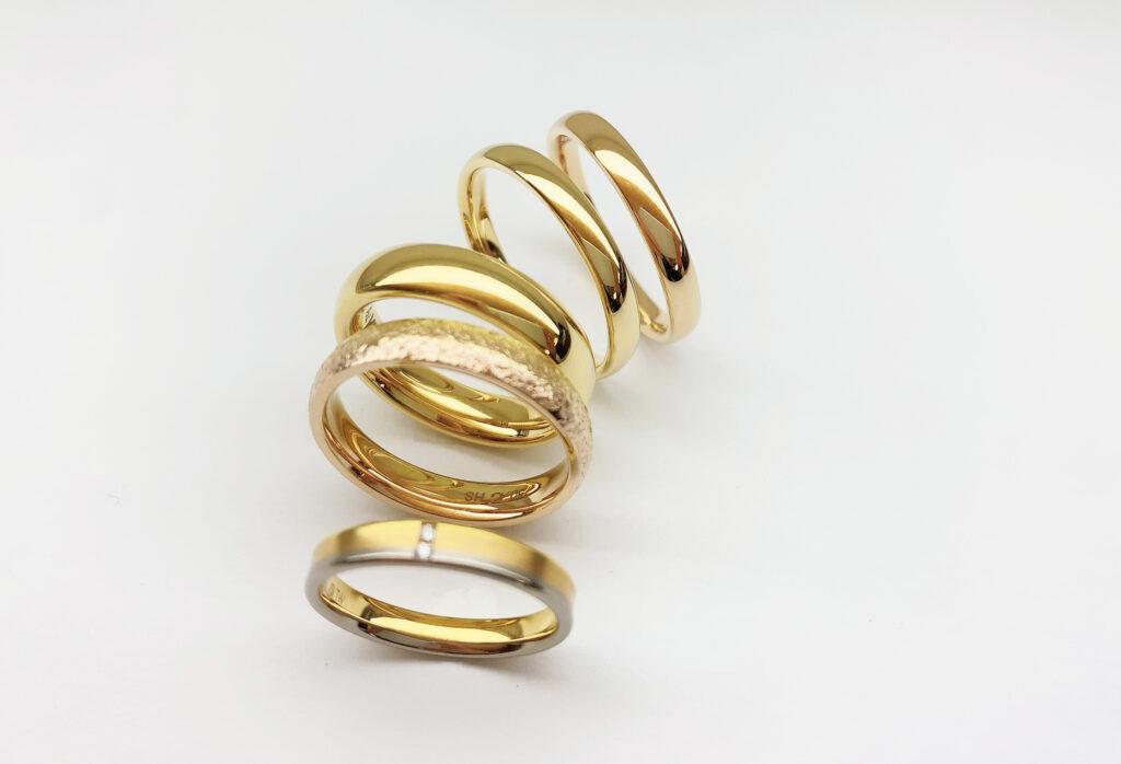 【静岡市】ゴールドで太めの結婚指輪はダサい?その理由と対処法とは