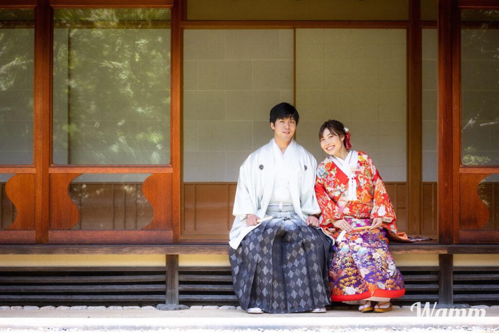【静岡浜松前撮り】紅葉山庭園のお手入れが素晴らしい!県下有数の和装ロケーションスポット