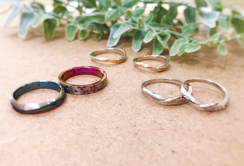 【静岡市】2021年結婚指輪の人気デザインランキング「おしゃれなコンビネーション編」