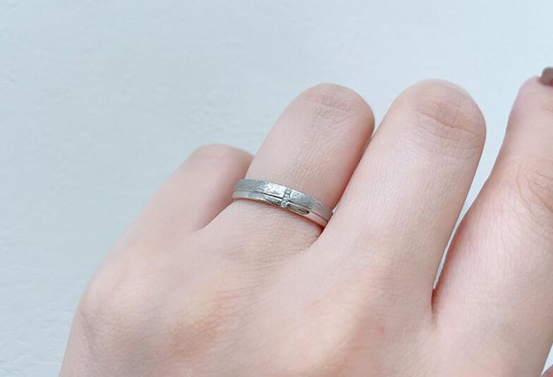 【静岡市】結婚指輪を鍛造にしてよかった!購入5年後のお客様の声