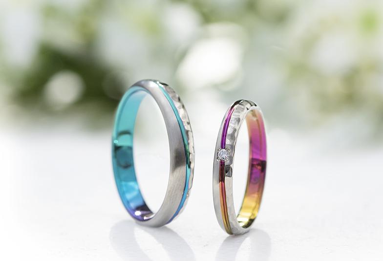 【浜松市】結婚指輪にふたりだけのカラーを『オリジナルグラデーション』って何?