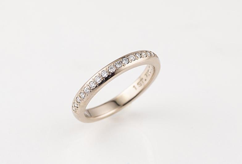 結婚指輪の追加加工